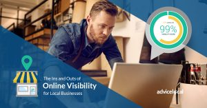 Without online visibility, local businesses will likely fail in today's competitive environment.