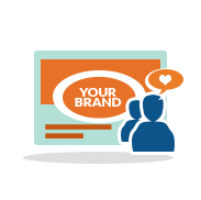 Promote clients' positive brand mentions