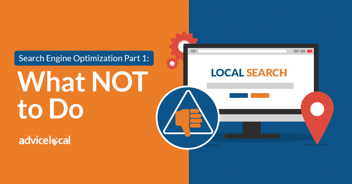 Search Engine Optimization What Not To Do