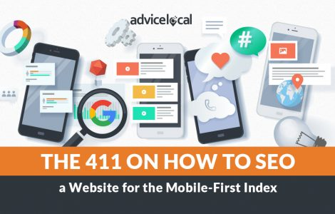 The 411 on How to SEO a Local Business Website for the Mobile-First Index