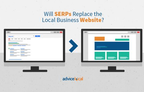 Will SERPs Replace the Local Business Website?