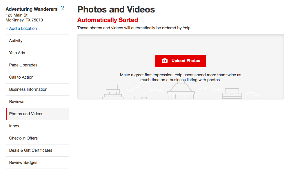 How to Upload Photos to Yelp