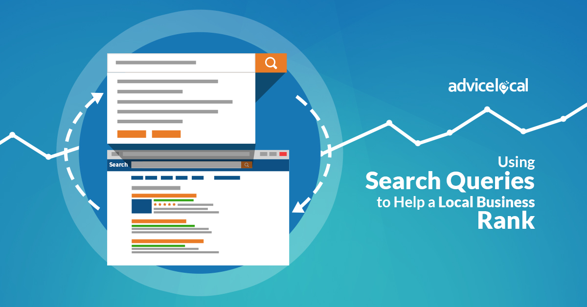 Using Search Queries to Help a Local Business Rank