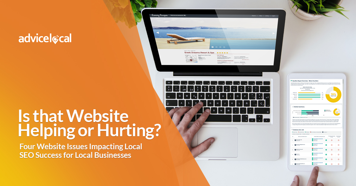 Website Local SEO Issues