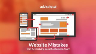 Website Mistakes that Are Driving Local Customers Away