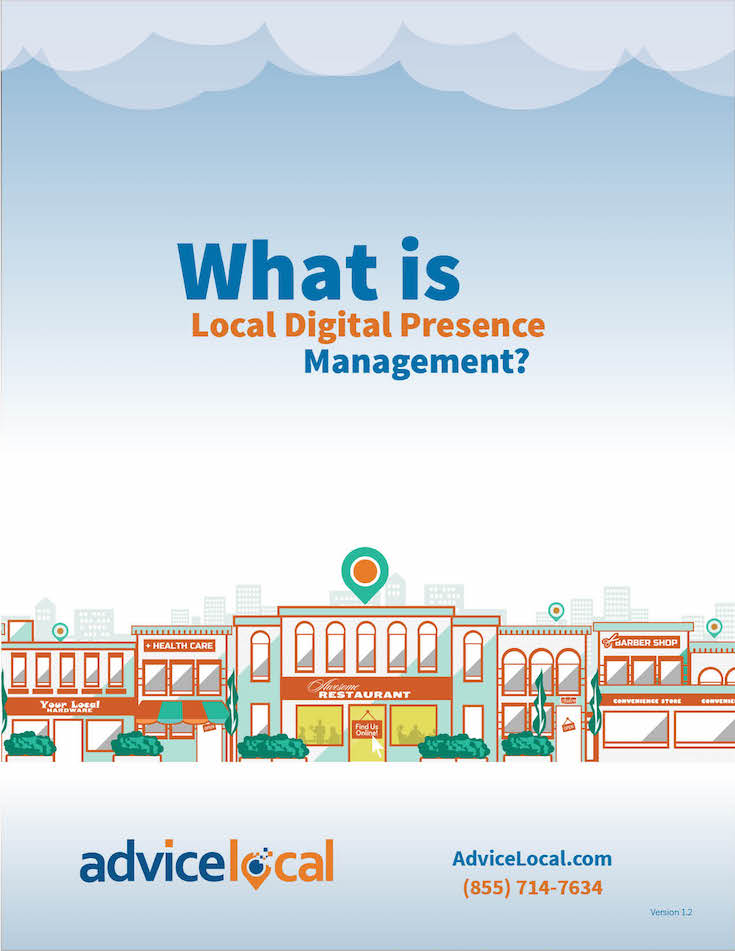 What is Local Digital Presence Management eBook