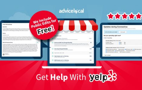 Get Help With Yelp – We Include Public Edits for Free | Advice Local