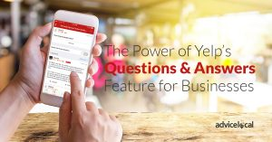 Yelp Questions and Answers for Businesses
