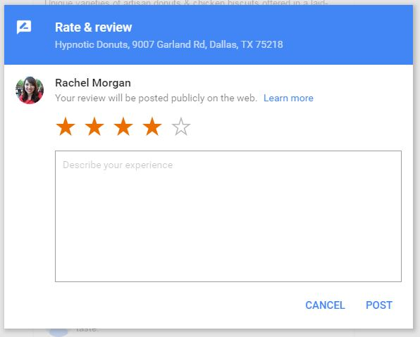 google review update