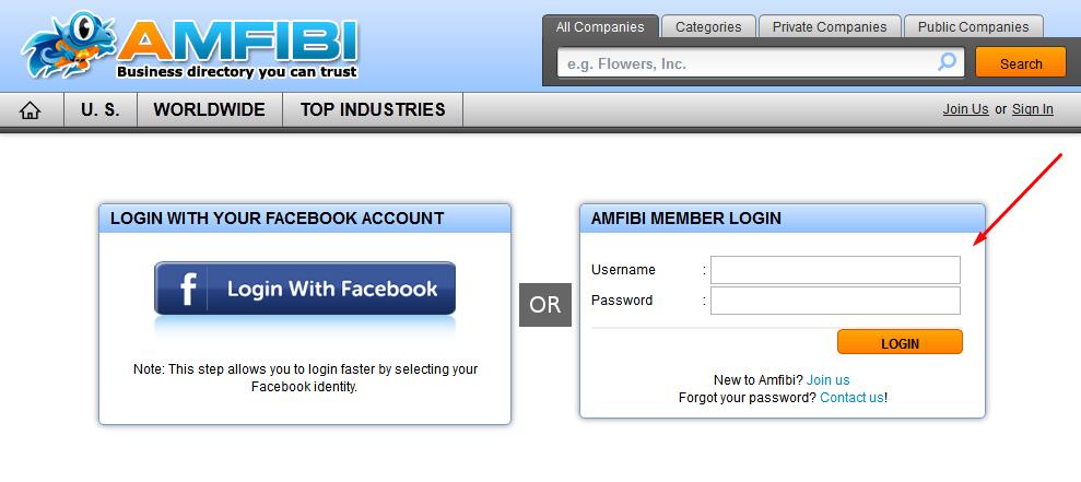 Amfibi Business Listing Step 5