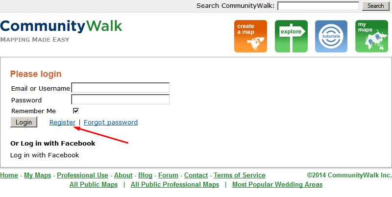 Community Walk Business Listing step 2