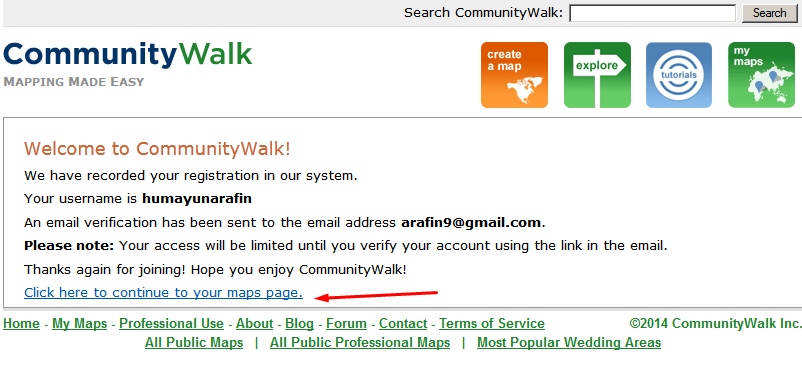 Community Walk Business Listing step 5