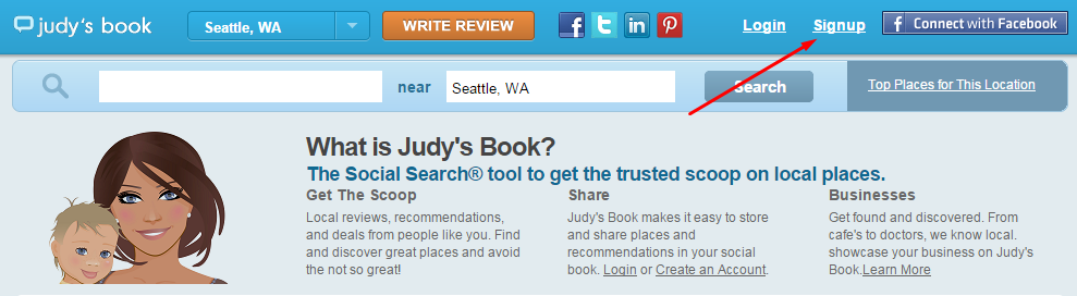 Judy's Book Step 1