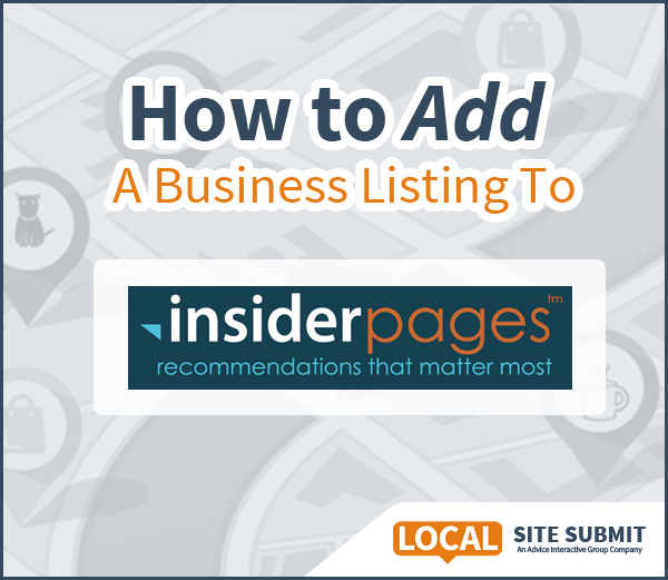 How To Add A Listing To Insider Pages