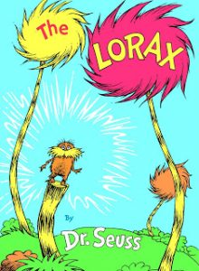 The Lorax from On the Lap