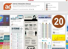 advice interactive pinterest board