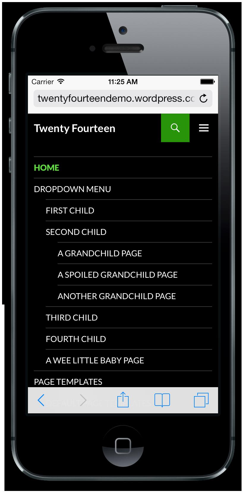twenty-fourteen-top-primary-menu-iphone